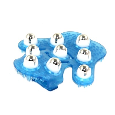 342-011 Массажер ручной циркулирующий 16x14,5x5,5см, пластик