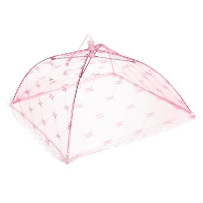 159-001 Чехол-зонтик для пищи, полиэстер, 30х30 см, 4 цвета, 39х8х2,5