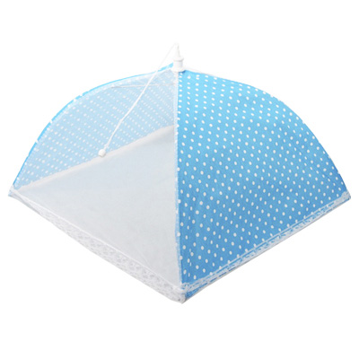 159-003 Чехол-зонтик для пищи, полиэстер, 35х35 см, 4 цвета, 44х8х2,5