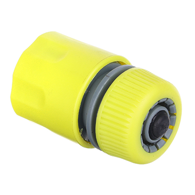 """160-029 Коннектор для шланга с аквастопом, d1/2"""", 5,5х3,5х3,5, INBLOOM"""