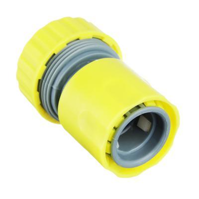 """160-031 Коннектор для шланга с аквастопом, d3/4"""", 6х4,5х4,5, INBLOOM"""