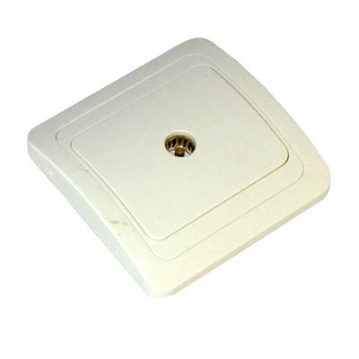904-026 FORZA Классика Розетка телевизионная, цвет белый 16А 250В, керамика