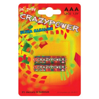 917-011 Элемент питания 2 шт в уп. jaZZway Ultra LR6 (LR6C-2B)(Crazypower)