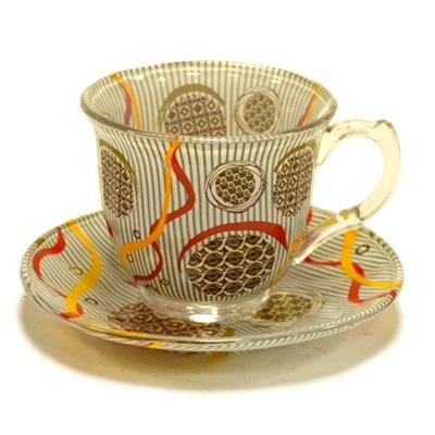 """802-043 VETTA Набор чайный 12 пр. """"Шоколад"""", 220мл, стекло, в подароч. упак."""