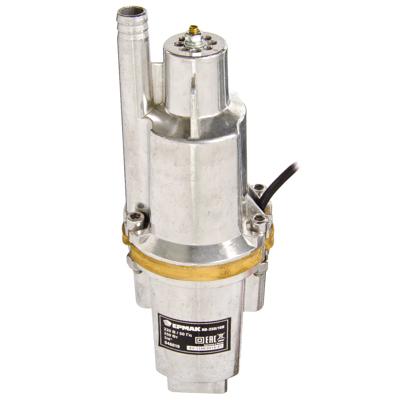 646-019 ЕРМАК Насос вибрационный НВ-250/10В, 250Вт, 16 л/мин, подъем 60м, кабель 10м,верх.водозабор