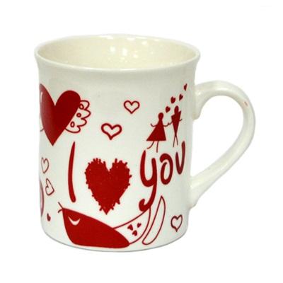 080-415 Кружка 360мл, фрф, I Love You,