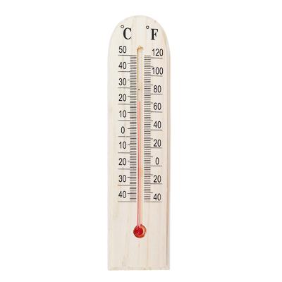 473-023 INSALAT Термометр деревянный Уют, блистер, 1х4,5х19,5см
