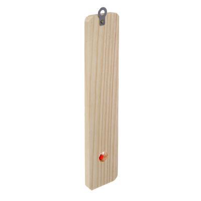 473-029 INBLOOM Термометр деревянный Классик малый, блистер, 20х4см