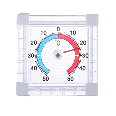 473-036 INBLOOM Термометр оконный Биметаллический (-50 +50), блистер