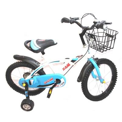 """331-010 Велосипед двухколесный 16"""" (со съемными боковыми) цвет микс. арт.2-1-16"""