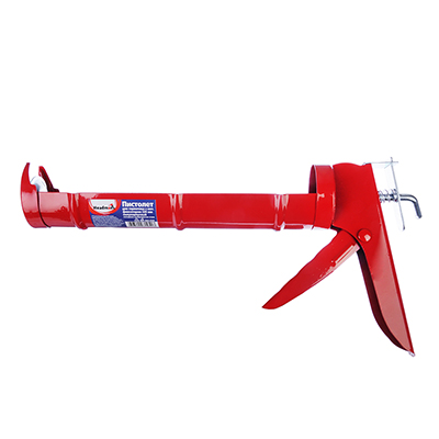 684-020 HEADMAN Пистолет для герметика с мет. фиксатором 225мм полукорп.