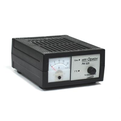771-024 ОРИОН Зарядное устройство PW325 0,8-18А стрелочный индикатор, автоматический режим
