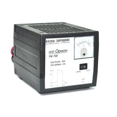 771-025 ОРИОН Пуско-зарядное устройство PW700 пусковой ток 80А, зарядный ток10А, стрел. индик, автомат режим