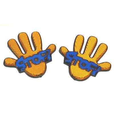 """768-059 Наклейка для автомобиля """"Happy hand"""""""