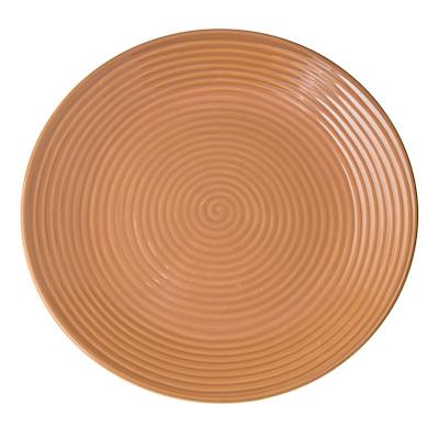 816-019 Cuba Marone Тарелка подстановочная 27см, коричневый, керамика