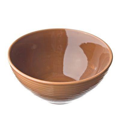 816-046 Cuba Marone Салатник 14см, коричневый, керамика