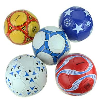 133-001 Мяч футбольный 2 сл, арт. ФМ-001, цвет микс