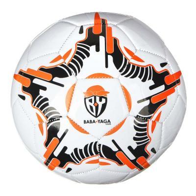 133-006 Мяч футбольный 2 сл, р.5, 22см, PU, 4 цвета арт.503