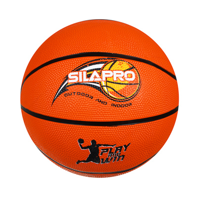 128-013 Мяч баскетбольный, размер 7, 24 см, резина, арт. МК2308