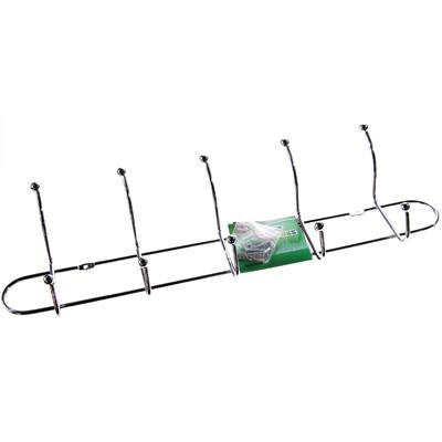 465-018 Вешалка металлическая 5 крючков