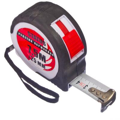 658-016 FALCO Рулетка карманная STATUS (7,5м х 25мм)
