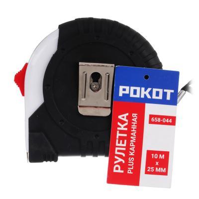 658-044 FALCO Рулетка карманная PLUS (10м х 25мм)