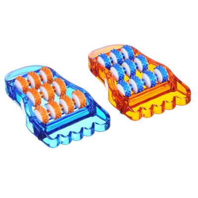 342-043 Массажер для ступней ног, пластик, 21,5x12 см, 2 цвета, SILAPRO