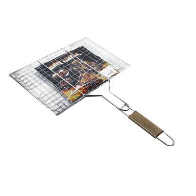 104-101 Решетка-гриль для мяса, 34x(22+21) см