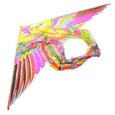 """341-068 Воздушный змей """"Сказочная птица"""", бумага,155см"""