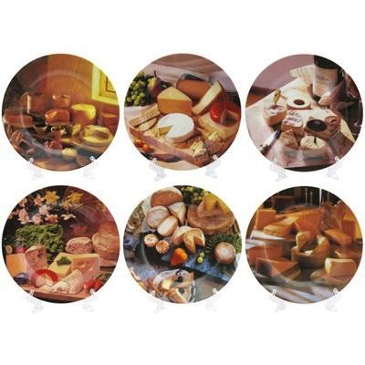 816-115 Набор тарелок сервировочных 6шт, d19см, подар упак, G7366E