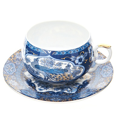 802-094 Набор чайный 2 пр. 250мл Царственные птицы, подар упак, 1270321