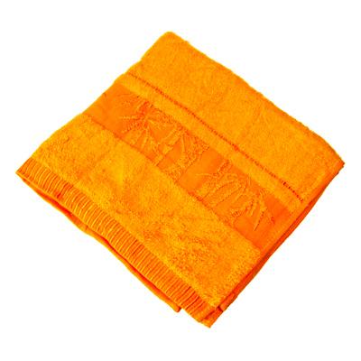 484-319 VETTA Полотенце банное, 100% хлопок, 50x90см, Calabria оранжевое