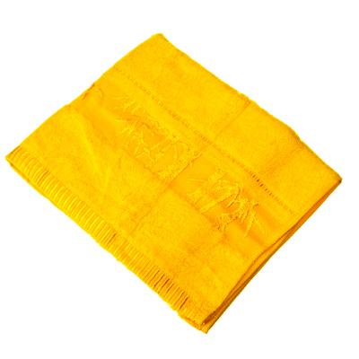 484-320 VETTA Полотенце банное, 100% хлопок, 50x90см, Calabria, жёлтое