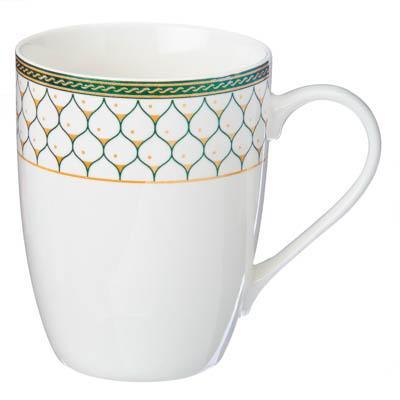 080-485 Кружка 360мл, фрф, Чашка кофе, микс, Rslee