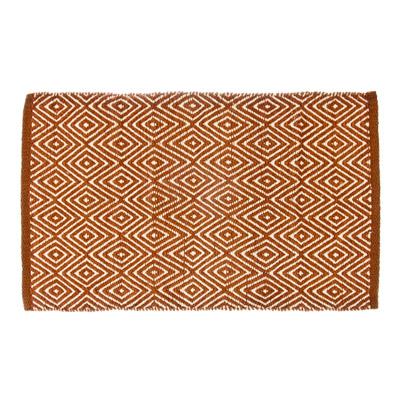 """462-322 VETTA Коврик интерьерный, хлопок 100%, 60x90см, """"Греция"""" коричневый"""