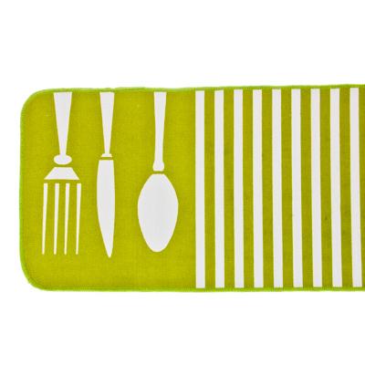 462-323 VETTA Коврик для кухни антискользящий, 45x120см, зелёный