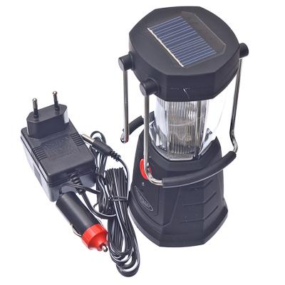 928-017 NEW GALAXY Фонарь аккумуляторный кемпинговый на солнечной батарее, 12 светодиодов