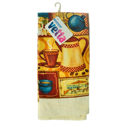 439-302 VETTA Kitchen Полотенце, 38х63см, ТС Coffee time, GC