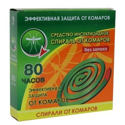 159-034 Антикомаринные спирали от комаров 10 шт
