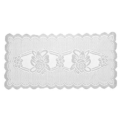436-091 Салфетка для сервировки стола ажурная прямоугольная 37х75см