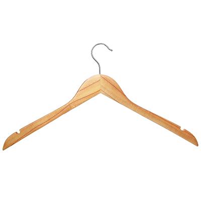 455-006 VETTA Вешалка деревянная 44,5см, без перекладины
