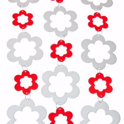 """491-037 Декор пластиковый для интерьера, """"Цветок"""""""