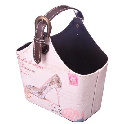 """444-129 Подставка-сумка """"Туфелька"""", ПВХ, 20x11x15см"""