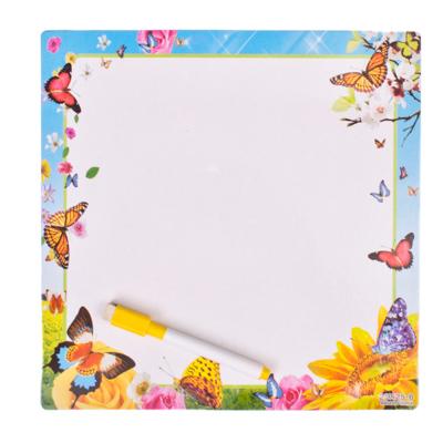 103-033 Доска для рисования с черным маркером, большая