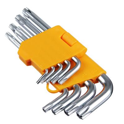657-075 FALCO Standard Набор ключей TORX-профиль 9пр. (50х3мм-125х9мм)