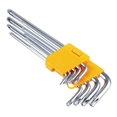 657-077 FALCO Standard Набор ключей TORX-профиль 9пр. (80х3мм-230х9мм)