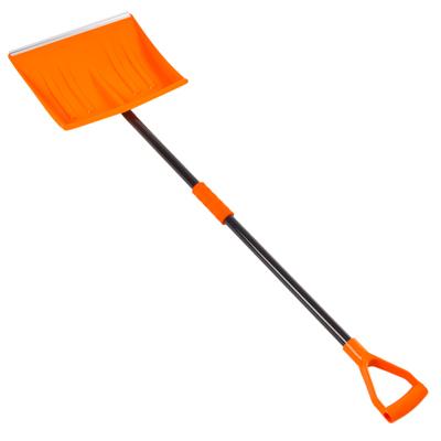 775-010 Лопата для уборки снега,металл-пластик, 138х40см