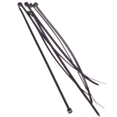 669-019 FALCO Хомут нейлоновый для стяжки 2,5х150мм, черный 100шт/уп