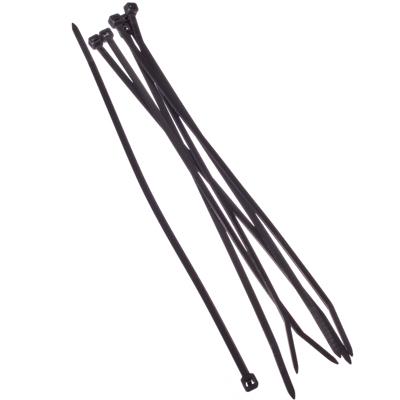 669-024 FALCO Хомут нейлоновый для стяжки 3,6х200мм, черный 100шт/уп