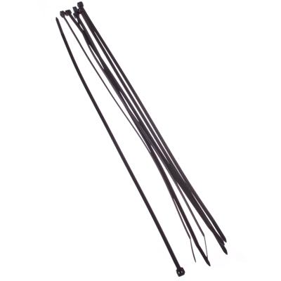 669-025 FALCO Хомут нейлоновый для стяжки 3,6х300мм, черный 100шт/уп
